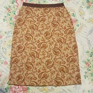 90's Retro Stretch Pencil Skirt